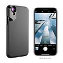 رخيصةأون كاميرا هاتف جوال-عدسة الهاتف المحمول عدسة تركيز طويل / عدسة زاوية كبيرة زجاج / ABS + PC 2X 10 mm 0.01 m 110 ° العدسة مع الغطاء