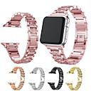 voordelige iPhone-hoesjes-Horlogeband voor Apple Watch Series 5/4/3/2/1 Apple Moderne gesp Roestvrij staal Polsband