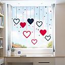 رخيصةأون الستائر-الحب الإبداعي المنقولة فيلم النافذة البلاستيكية&أمبير. ملصقات الديكور الهندسي