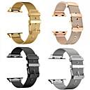 voordelige Apple Watch-bandjes-Horlogeband voor Apple Watch Series 5/4/3/2/1 Apple Moderne gesp Roestvrij staal Polsband