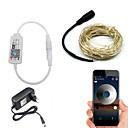 povoljno Maske/futrole za Nokiju-BRELONG® 5m Žice sa svjetlima / Smart Lights 50 LED diode SMD 0603 Toplo bijelo / Bijela / Crveno Vodootporno / APP kontrola / Kreativan 220-240 V 1pc