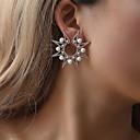 ราคาถูก ตุ้มหู-สำหรับผู้หญิง ต่างหู คลาสสิค ต่างหู เครื่องประดับ สีทอง / สีเงิน สำหรับ ปาร์ตี้ Street ฮอลิเดย์ 1pc