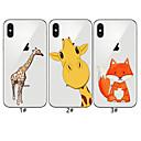رخيصةأون أغطية أيفون-غطاء من أجل Apple iPhone XS / iPhone XR / iPhone XS Max نموذج غطاء خلفي حيوان / كارتون ناعم TPU