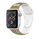tanie Opaski do Apple Watch-pasek do smartfona z żelem krzemionkowym do zegarka z serii Apple 4/3/2/1 pasek