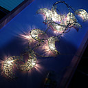 povoljno LED svjetla u traci-3m metalni mjesec vodio svjetla string doma svadba dekor toplo bijelo usb moć kreativna svjetla strip dekor