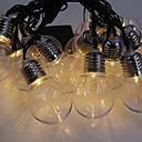 povoljno LED svjetla u traci-6m Žice sa svjetlima 30 LED diode Toplo bijelo Ukrasno 220-240 V 1set
