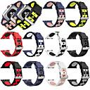 رخيصةأون ساعات النساء-سيليكون watchband لساعة أبل 44/40/42/38 ملليمتر حزام الفرقة ل iwatch سلسلة 1 2 3 4 الرياضية الفرقة هول حلقات عثرة عصابة المعصم