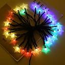 povoljno LED svjetla u traci-4m Žice sa svjetlima 20 LED diode Više boja Sunce / Ukrasno AA baterije su pogonjene 1set