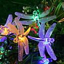 povoljno LED svjetla u traci-5m dragonfly string svjetla 40 LEDs više boja Halloween Božić ukrasne baterije baterije powered 1 set