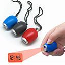 ieftine Seturi de Bijuterii-fierbinte de vânzare portabil mini digital ceas de proiecție de timp a condus torta lanterna