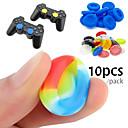 olcso Wii kontrollerek-10 gumi szilikon játékvezérlő hüvelykujj markolat a ps4 ultra-vékony xbox one xbox 360 wii u vezérlőhöz