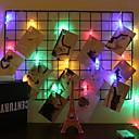 povoljno LED svjetla u traci-6m Žice sa svjetlima 40 LED diode Više boja Ukrasno AA baterije su pogonjene 1set
