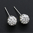 povoljno Naušnice-Žene Sitne naušnice Klasičan Stilski Jednostavan Naušnice Jewelry Pink Za Dnevno Rad 1 par
