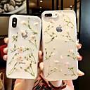 رخيصةأون أغطية أيفون-غطاء من أجل Apple iPhone XS / iPhone XR / iPhone XS Max شفاف / نموذج غطاء خلفي شفاف / زهور ناعم TPU
