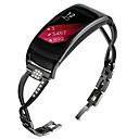رخيصةأون أساور ساعات لهواتف سامسونج-حزام إلى Gear Fit 2 Samsung Galaxy بكلة عصرية / تصميم المجوهرات معدن / ستانلس ستيل شريط المعصم
