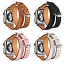 voordelige Apple Watch-bandjes-Horlogeband voor Apple Watch Series 5/4/3/2/1 Apple Sportband Echt leer Polsband