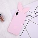 voordelige iPhone 7 hoesjes-case voor iphone 8 plus achterkant van de behuizing zachte cover tpu roze konijn siliconen zachte volgende lange oor zachte tpu voor iphone x 7 plus 7 6 plus 6 8