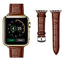 رخيصةأون أساور ساعات هواتف أبل-حزام إلى Apple Watch Series 4/3/2/1 Apple عصابة الرياضة جلد طبيعي شريط المعصم