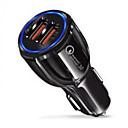 ieftine Încărcătoare Auto-Mașină Încărcător de Mașină 2 Porturi USB pentru 12 V