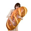 رخيصةأون وسائد-مضحك 3d محاكاة شكل الخبز وسادة لينة وسادة قطني أفخم لعبة محشوة 60 سنتيمتر