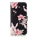 رخيصةأون Huawei أغطية / كفرات-غطاء من أجل Huawei هواوي P30 / Huawei P30 Pro / P10 Lite حامل البطاقات / نموذج غطاء كامل للجسم زهور قاسي جلد PU