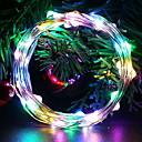 povoljno LED svjetla u traci-5m Žice sa svjetlima 50 LED diode Više boja Ukrasno AA baterije su pogonjene 1set