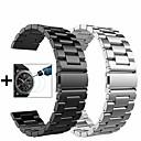 povoljno Remenje za sat Samsung-Pogledajte Band za Gear S3 Frontier / Gear S3 Classic / Samsung Galaxy Watch 46 Samsung Galaxy Sportski remen / Preklopna metalna narukvica / Leptir Buckle Metal / Nehrđajući čelik Traka za ruku