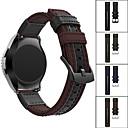 voordelige Smartwatch-accessoires-Horlogeband voor LG G Watch W100 / LG G Watch R W110 / LG Watch Urbane W150 LG Sportband Leer / Nylon Polsband