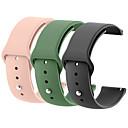 voordelige Horlogebandjes voor Pebble-18mm 20mm 22mm 3 stks siliconen horloge band gear s2 strap voor samsung gear s3 klassieke frontier galaxy horloge correa amazfit bip armband