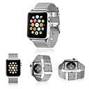 ieftine Lumini & Gadget-uri LED-bandă de ceasuri pentru ceasuri de mere seria 5/4/3/2/1 curea de încheietură din oțel inoxidabil cu bucle milanese