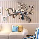 رخيصةأون الستائر-لواصق حائط مزخرفة - لواصق / ملصقات الحائط على المرآة عربية / 3D غرفة النوم / داخلي