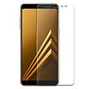 رخيصةأون حافظات / جرابات هواتف جالكسي A-Samsung GalaxyScreen ProtectorA8 2018 (HD) دقة عالية حامي شاشة أمامي 1 قطعة زجاج مقسي