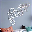 رخيصةأون ملصقات ديكور-لواصق حائط مزخرفة - لواصق / ملصقات الحائط على المرآة تجريدي / 3D حضانة / غرفة الأطفال