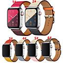 tanie Opaski do Apple Watch-opaska na smartwatch do zegarka Apple seria 4/3/2/1 opaska na pasek ze skóry naturalnej pasek na rękę ze skóry naturalnej