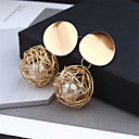 cheap Earrings-Women's Drop Earrings Hollow Out Ball Hope Stylish Artistic Trendy Romantic Earrings Jewelry Gold / White For Gift Daily Street Holiday Festival 1 Pair