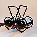 povoljno Muški satovi-1pc Kovano željezo Stalci za vino Stalci za vino Klasični Vino Pribor za barware