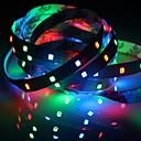 povoljno Kompleti svjetala-1pc ip20 rgb 300 LED traka svjetla 5m 60leds / m smd 2835 bijela topla bijela žuta crvena zelena plava vodio traka 12v linkable / samoljepljiva / tv pozadina fleksibilna traka konop pruga