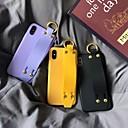 voordelige iPhone-hoesjes-hoesje Voor Apple iPhone XS / iPhone XR / iPhone XS Max Ringhouder Achterkant Effen Zacht TPU