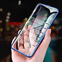 رخيصةأون حافظات / جرابات هواتف جالكسي A-غطاء من أجل Samsung Galaxy A6 (2018) / A6+ (2018) / Galaxy A7(2018) تصفيح / نحيف جداً / شفاف غطاء خلفي لون سادة ناعم TPU