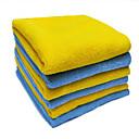 cheap Necklaces-1PCS Microfiber Towel Comfortable Yellow 40*40 cm