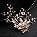 ieftine Bijuterii de Păr-Pentru femei Pentru Ștras Aliaj Roz auriu 1 buc