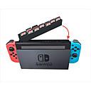 ieftine Accesorii Nintendo Switch-cartelă de depozitare a cardului pentru comutator nintendo, cutie portabilă de stocare a cardului pvc (policlorură de vinil) 1 buc