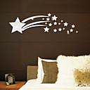رخيصةأون ملصقات ديكور-shining stars 3d wall stickers - ملصقات الحائط مرآة الأشكال غرفة الدراسة / مكتب / غرفة الطعام / المطبخ