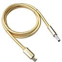 ieftine Cabluri & Adaptoare-Micro USB Cablu 1m-1.99m / 3ft-6ft Împletit Nailon Adaptor pentru cablu USB Pentru Samsung / Huawei / Xiaomi