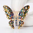 ieftine Broșe-Pentru femei Broșe Extravagant Fluture Stilat Cute Stil Broșă Bijuterii Curcubeu Pentru Nuntă Festival