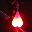 ieftine USB-uri-LED Lumini de Bicicletă Becuri LED Iluminat Bicicletă Spate lumini de securitate Bicicletă Ciclism Rezistent la apă Model nou Ușor de Purtat CR2032 20 lm CR2032 Baterie Roșu Albastru Verde Ciclism