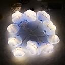 رخيصةأون وشم مؤقت-1M أضواء سلسلة 10 المصابيح أبيض دافئ ديكور بطاريات آ بالطاقة 1SET
