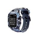 رخيصةأون أساور ساعات هواتف أبل-حزام إلى Apple Watch Series 4 / Apple Watch Series 3 / Apple Watch Series 2 Apple عصابة الرياضة سيليكون شريط المعصم