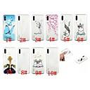 رخيصةأون Huawei أغطية / كفرات-غطاء من أجل Huawei هواوي P30 / Huawei P30 Pro / هواوي P30 لايت شفاف / نموذج غطاء خلفي فراشة / كارتون / الريش ناعم TPU