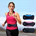 ieftine Accesorii GoPro-talie sac bărbați și femei de călătorie dublu sport rezistent la apa reglabil buzunare sac de călătorie 6 inch